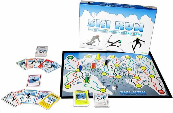 Large ski run