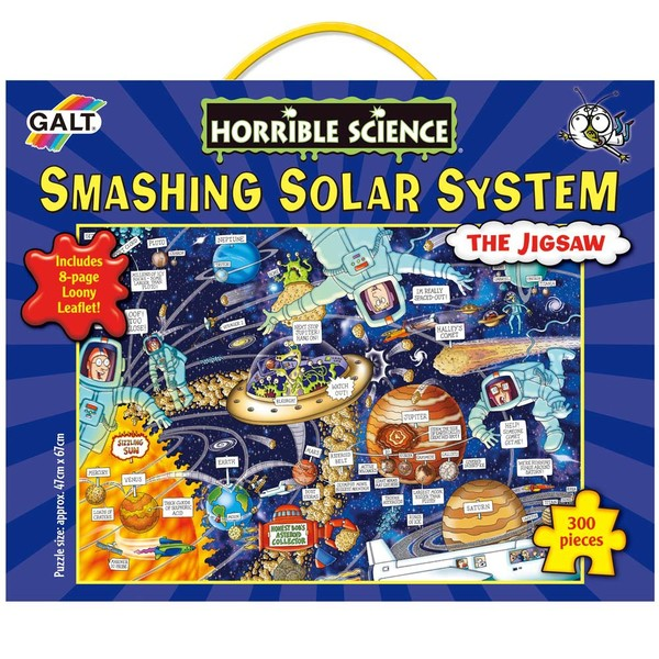 Large galt toys galt horrible science  smashing solar system jigsaw puzzle fun junction toy shop crieff perth scotland