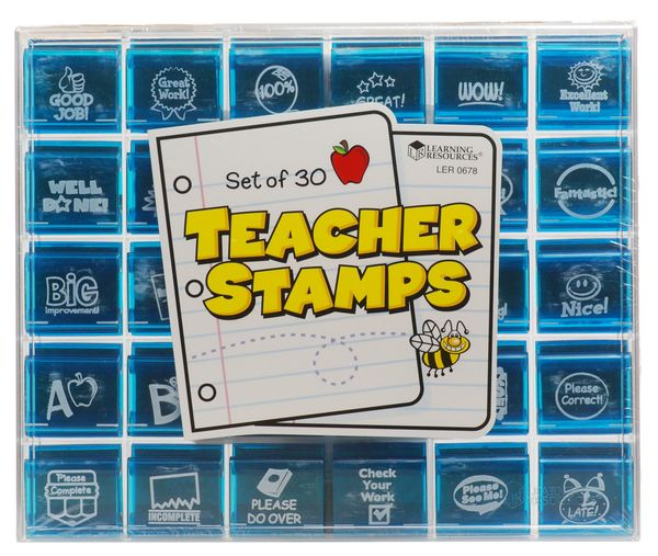 Large teacher stamps