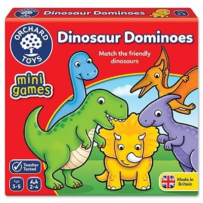 Large orchard toys dinosaur dominoes