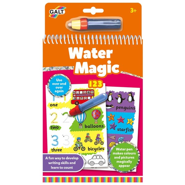 Large galt toys water magic 123 early writing preschool fine motor baby fun junction toy shop crieff perth scotland