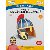 Small 3d craft soldier helmet