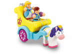 Small charlotte princess parade prince cakes horse and cart wow toys preschool plastic safe no batteries toy fun junction toys crieff perth perthshire scotland
