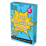 Small four function snap times divide add subtract take away addition multiplication snap card game green board games for children aged years and up