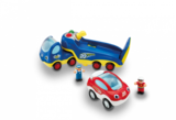 Small roccos big race friction race car wow toys preschool plastic safe no batteries toy fun junction toys crieff perth perthshire scotland