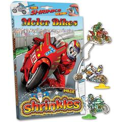 Medium_motorbikes_motorcycles_shrinkles_shrinkies_shrinks_heat_in_oven_colour_in_colouring