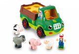 Small freddie the farm truck farm animals horse pig sheep cow wow toys preschool plastic safe no batteries toy fun junction toys crieff perth perthshire scotland