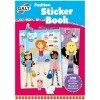 Large fashion sticker book