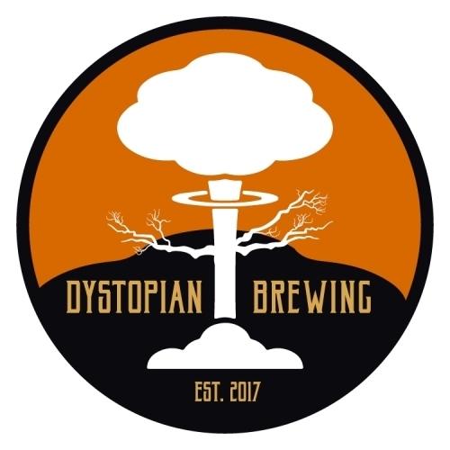 Large dystopian brewing logo