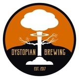 Small dystopian brewing logo