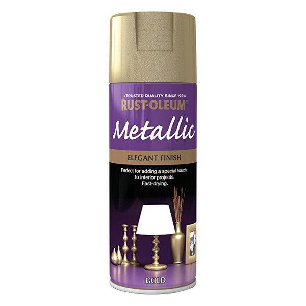 Large metallic gold