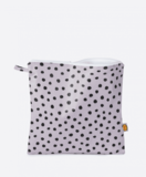 Small ladybird lilac dot washbag
