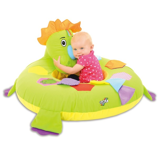 Large galt toys fun junction toy shop perth crieff perthshire scotland playnest dinosaur early years baby toddler soft back support sitting seat