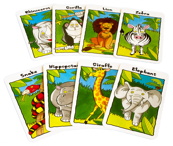 Large cards jungle snap
