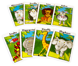 Small cards jungle snap