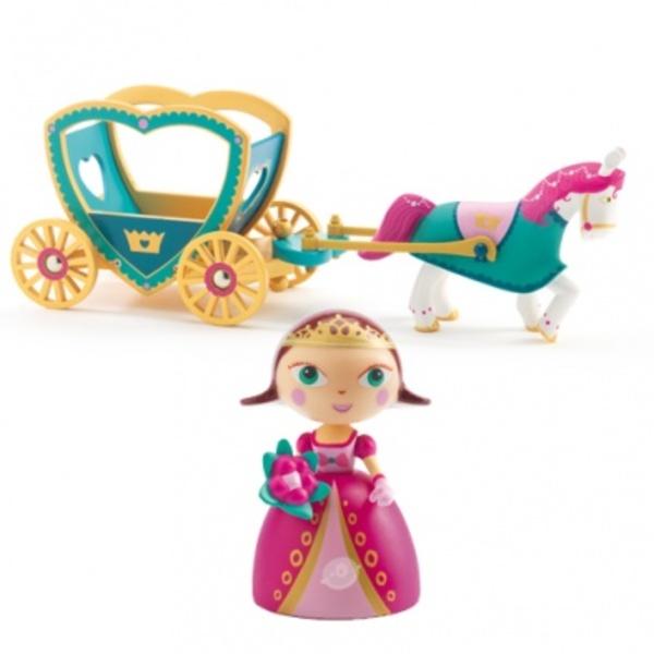 Large alycia ze caleche carriage djeco princess