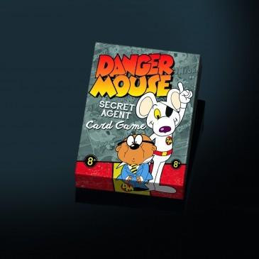 Large danger mouse secret agent card game