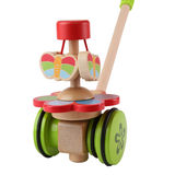 Small wooden push along toy dancing butterflies toy babies toddlers hape fun junction toy shop crieff perth perthshire scotland