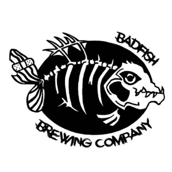 Large bad fish logo