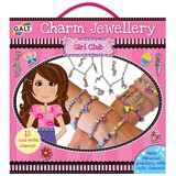 Small galt girl club charm jewelery making set kit