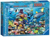 Small ravensburger fun junction toy shop perth crieff perthshire scotland jigsaw puzzle jig saw jewels of the sea 1000pc