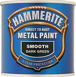 Small hammerite smooth dark green 250ml