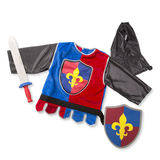 Small toy shop scotland melissa doug dress up costume pretend play knight hood chain mail sword sheild