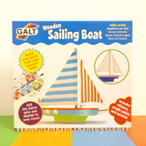 Small glt ck wooden sailing boat paint your own sail boat for age 6 six and up 3 three and up with supervision  w
