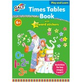 Small galt toys fun junction toy shop perth crieff perthshire scotland educational activity book times tables with stickers one to ten 1 to 10