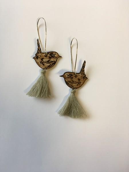 Large lf   earrings