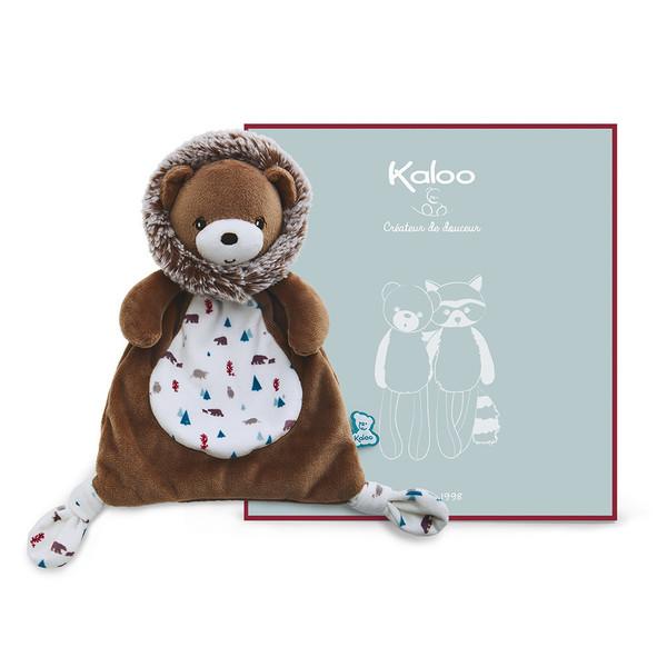 Large kaloo fun junction toy shop perth crieff perthshire scotland  peluche doudou ourson gaston 20 cm 7.9 inch inches blanket fidget 4895029627989
