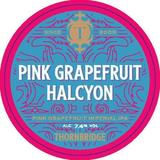 Small pink grapefruit halcyon