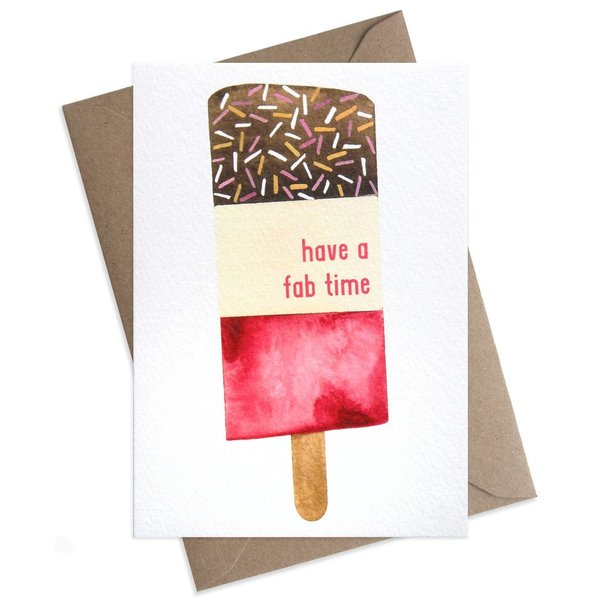 Large have a fab time ice lolly card 1024x1024