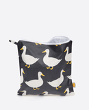 Small anorak waddling ducks black large toiletry bag front