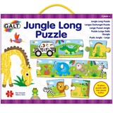 Small galt 10 ten piece long jigsaw puzzle with roaring noise buttton for children aged 3 three years and up
