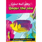 Small colour and learn under the sea sea creatures colouring book