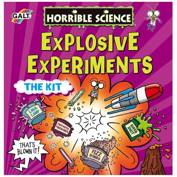 Large galt toys horrible science explosive experiments chemistry experiment kit baking soda vinegar fun junction toy shop crieff perth scotland