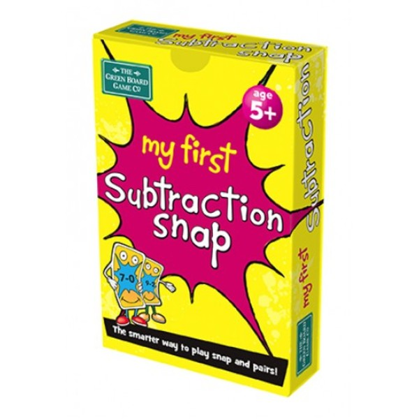Large my first subtraction snap early school taking away