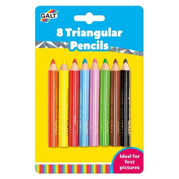Large galt toys colour pencils triangular easy grip fun junction toy shop crieff perth scotland