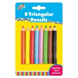 Small galt toys colour pencils triangular easy grip fun junction toy shop crieff perth scotland