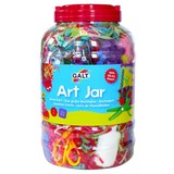 Small galt art jar big jar of craft materials for children aged 5 five years and up