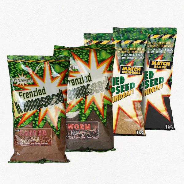 Large frenzied hemp groundbaits 1