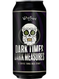 Small weird beard dark times dark measures coffee tonka milk stout craft beer the craft bar
