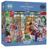 Small a gibsons furry friends 1000pc