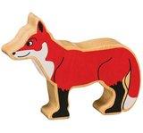 Small lanka kade wooden animal fox