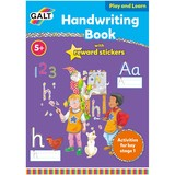 Small galt handwriting activity book with stickers for children aged 5 five years and up