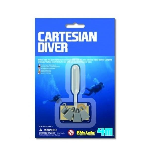 Large cartesian diver pressure experiment children kids science