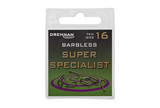 Small barbless super specialist eyed hook packed updated