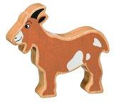Small lanka kade wooden animal goat