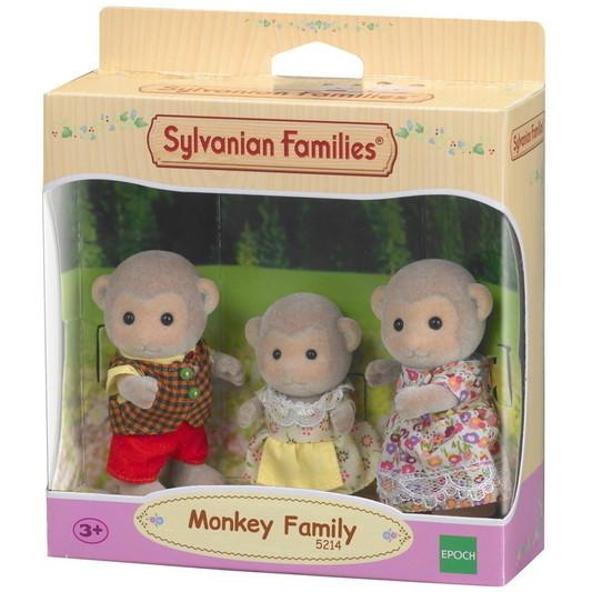 Large monkey family
